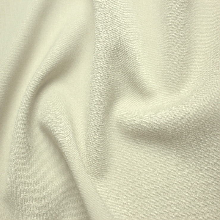 Poly/Rayon Blend Stretch Gabardine - 20 Yard Bolt 02 Ivory