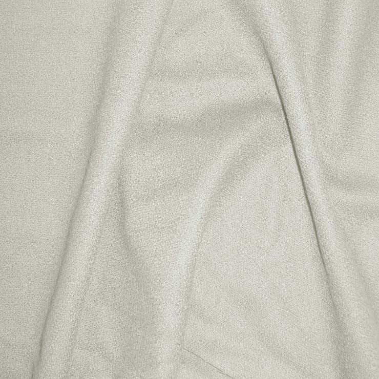 Deluxe Wool Crepe 02 Ivory - NY Fashion Center Fabrics