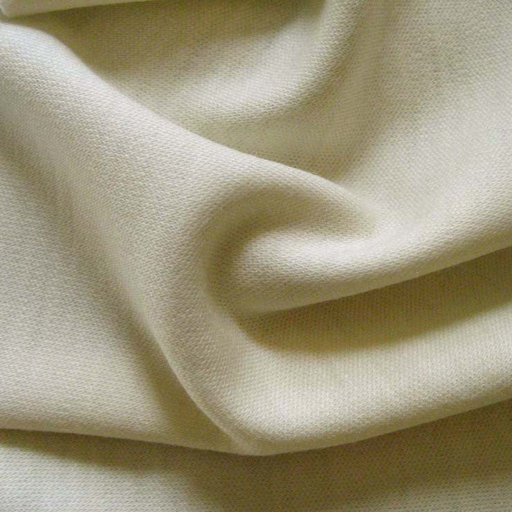 Wool Double Knit Jersey 02 Ivory