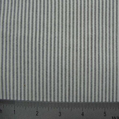 100% Cotton Fabric Stripes Collection #1 02 KO 3276 OXF8900BLK - NY Fashion Center Fabrics
