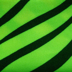 Matte Zebra Print Spandex 02 Neon Green - NY Fashion Center Fabrics