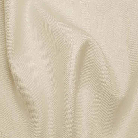 Italian Silk Herringbone 02 RS OffWhite - NY Fashion Center Fabrics