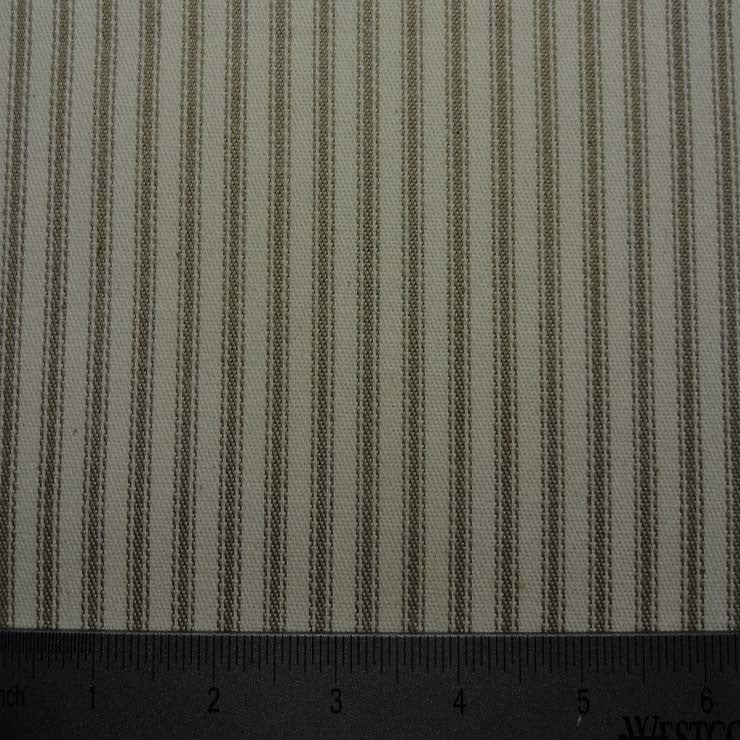 Cotton Stripe Ticking 02 Taupe - NY Fashion Center Fabrics