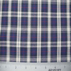 100% Cotton Fabric Checks Collection #1 02 Y D9810NWR - NY Fashion Center Fabrics