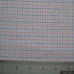100% Cotton Fabric Checks Collection #4 02 Y D9996B R - NY Fashion Center Fabrics