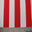 Stripes 4Way Stretch Fabric 03 1inch Stripe White Red