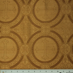 Polyester Tonal Church Brocade 03 Antique Gold