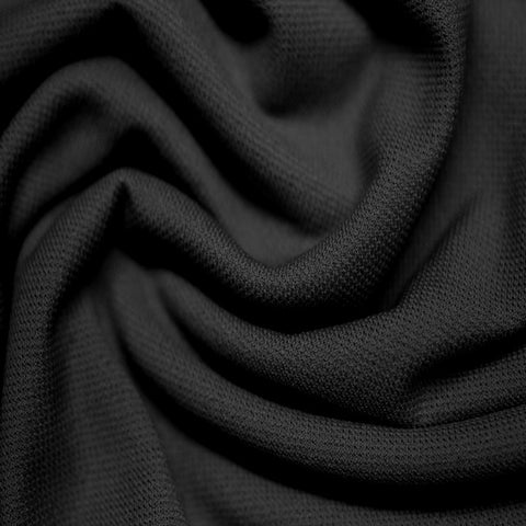 Nylon Stretch Lining 03 Black - NY Fashion Center Fabrics