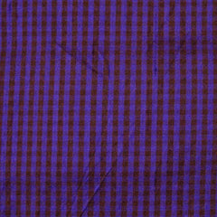 Silk Shantung Stripes and Checks Fabric 03 C