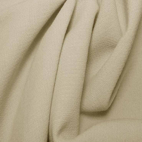 Wool Crepe Double Cloth 03 Cream