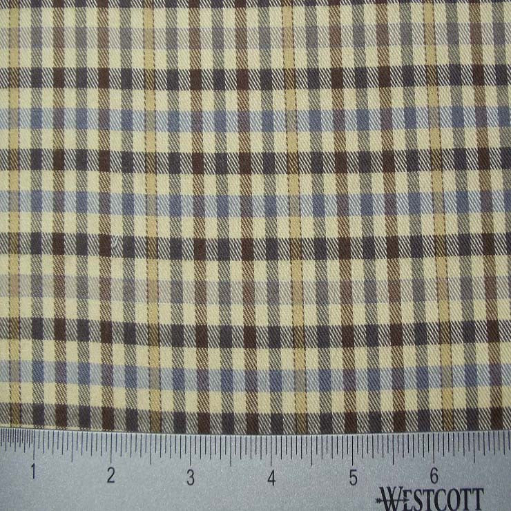 100% Cotton Fabric Checks Collection #3 03 FLN 5002T B - NY Fashion Center Fabrics