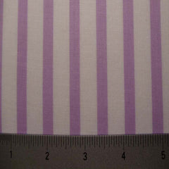 Cotton Striped Shirting #3 03 Lilac - NY Fashion Center Fabrics