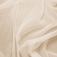 Nylon/Spandex Sheer Stretch Mesh 03 Natural