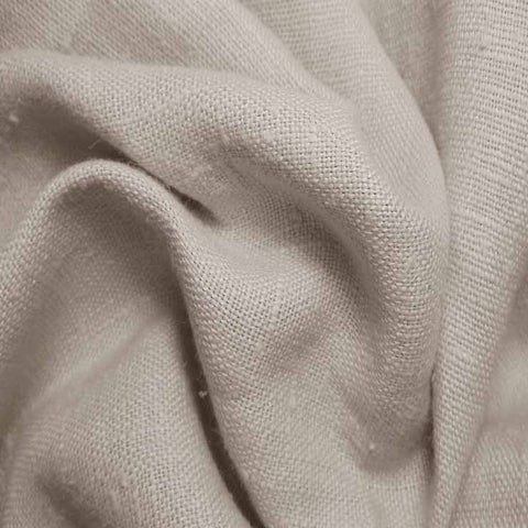 Heavyweight Linen 03 Oatmeal - NY Fashion Center Fabrics