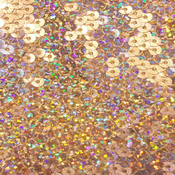 Hologram Stretch Sequins Mesh 03 Pink - NY Fashion Center Fabrics