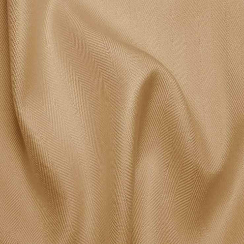 Italian Silk Herringbone 03 RS Beige - NY Fashion Center Fabrics