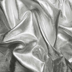Metallic Spandex 03 Silver - NY Fashion Center Fabrics