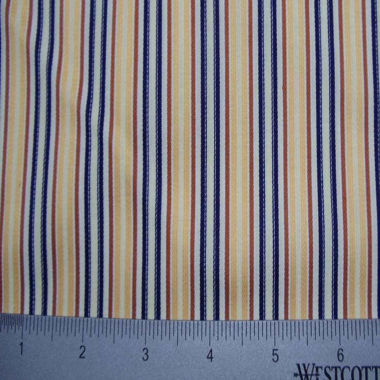 100% Cotton Fabric Stripes Collection #11 03 T T3711GOL - NY Fashion Center Fabrics