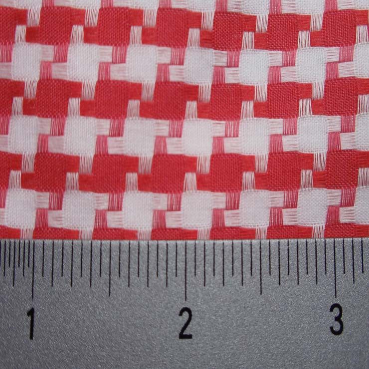 Cotton Dobby Cloth Houndstooth 03 Y D9800BRD - NY Fashion Center Fabrics