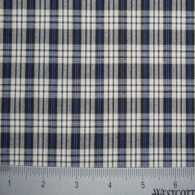 100% Cotton Fabric Checks Collection #5 03 Y D9813BTB - NY Fashion Center Fabrics