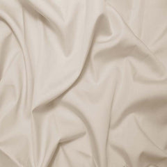 Sea Island Cotton Sateen Fabric 15 Yard Bolt 04 Ecru