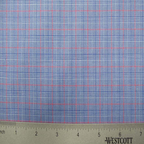 100% Cotton Fabric Checks Collection #3 04 Y D9500R B - NY Fashion Center Fabrics