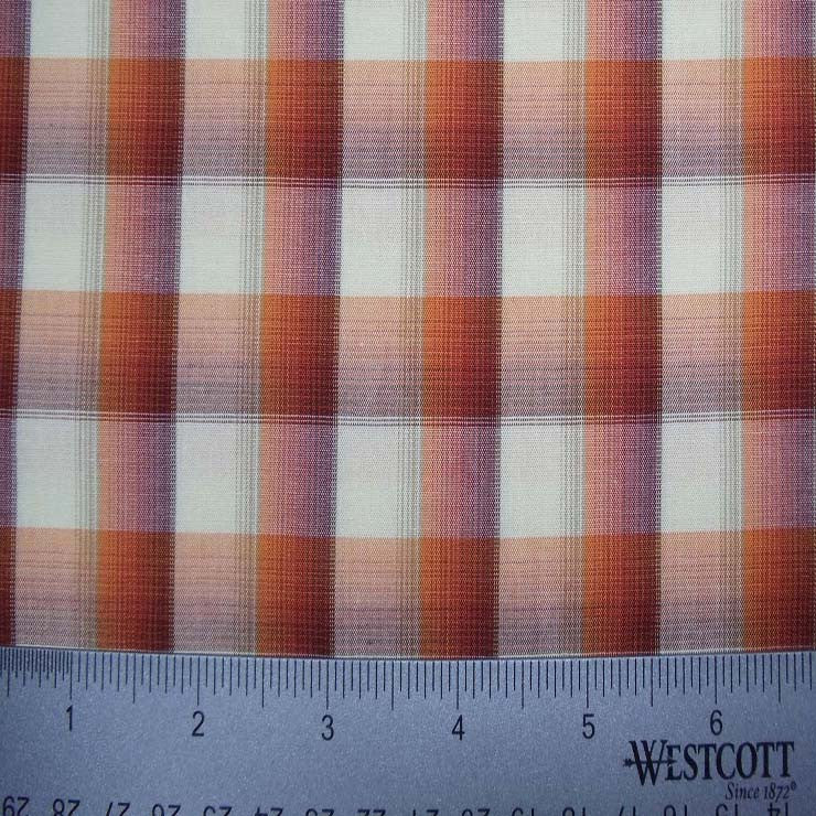 100% Cotton Fabric Checks Collection #2 04 Y D9777MUL - NY Fashion Center Fabrics