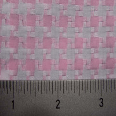 Cotton Dobby Cloth Houndstooth 04 Y D9800PNK - NY Fashion Center Fabrics