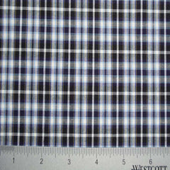 100% Cotton Fabric Checks Collection #5 04 Y D9812BWB - NY Fashion Center Fabrics