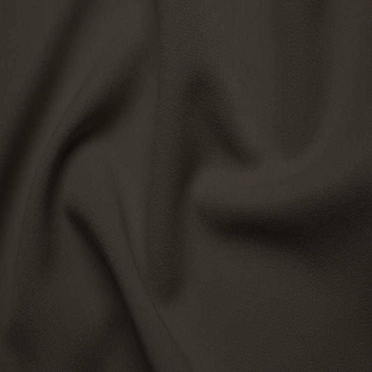 Poly/Rayon Blend Stretch Gabardine - 20 Yard Bolt 05 Chocolate