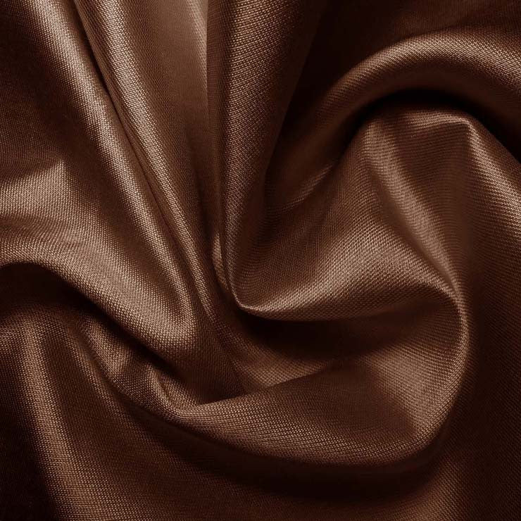 Silk Cotton Fabric Brown