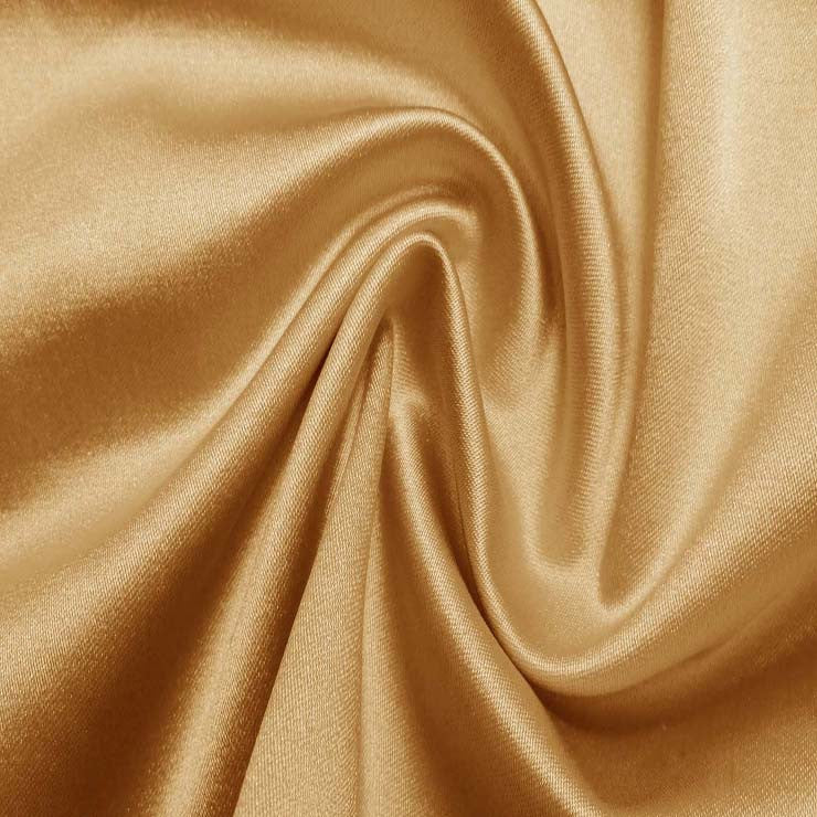 Silk/Nylon Blend Supreme Stretch Duchess Satin 05 Gold