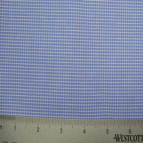 100% Cotton Fabric Checks Collection #2 05 KO 3213 Y D8016GRA - NY Fashion Center Fabrics