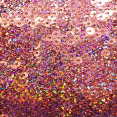 Hologram Stretch Sequins Mesh 05 Lavender - NY Fashion Center Fabrics