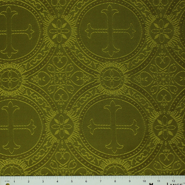 Polyester Tonal Church Brocade 05 Olive