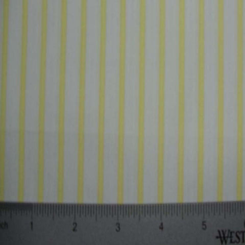 100% Cotton Fabric Stripes Collection #8 05 TWS1888YEL - NY Fashion Center Fabrics
