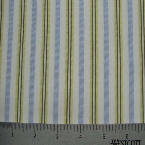 100% Cotton Fabric Stripes Collection #11 05 Y D4521MNT - NY Fashion Center Fabrics