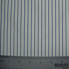 100% Cotton Fabric Stripes Collection #7 06 Y D8331BLU - NY Fashion Center Fabrics