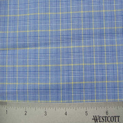 100% Cotton Fabric Checks Collection #3 05 Y D9500M B - NY Fashion Center Fabrics