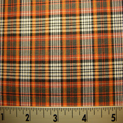 100% Cotton Fabric Checks #8 05 Y D9510MUL_740X740 - NY Fashion Center Fabrics