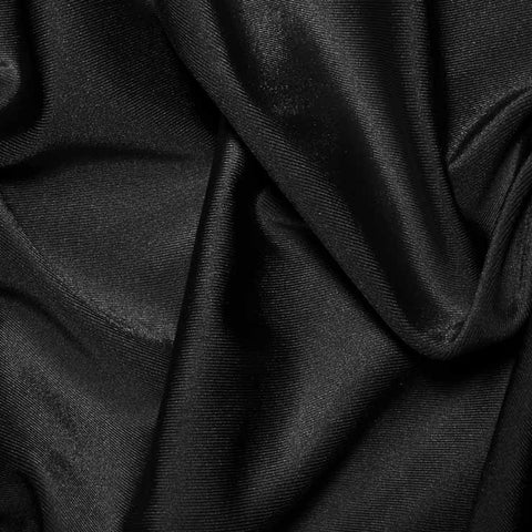Nylon Stretch Moleskin 06 Black - NY Fashion Center Fabrics