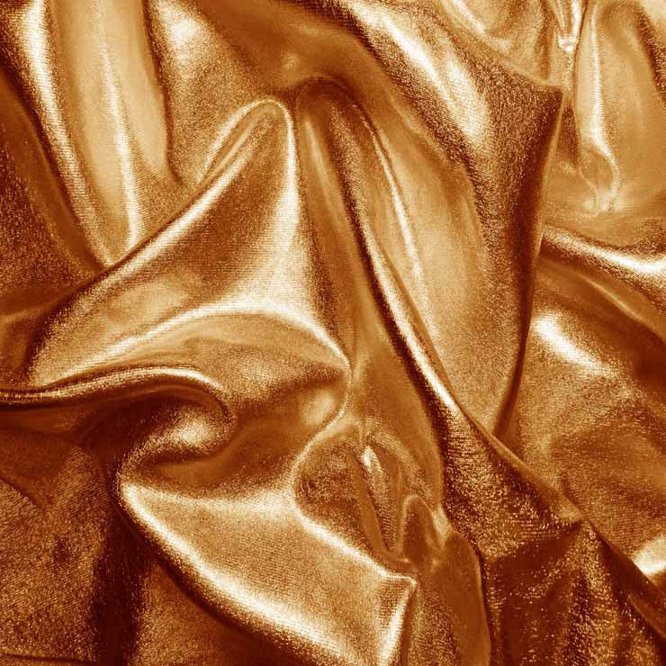Metallic Spandex 06 Copper - NY Fashion Center Fabrics