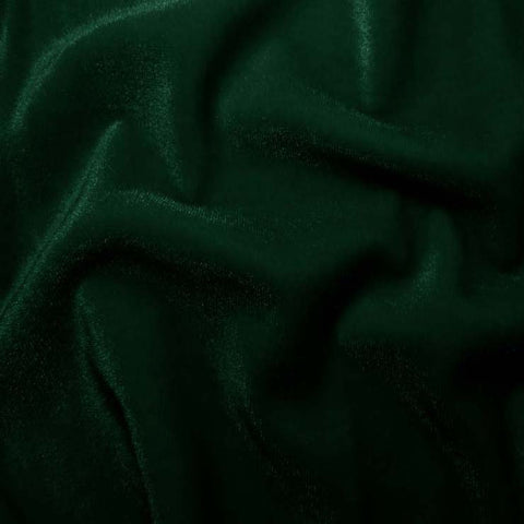 Polyester Stretch Velvet - 15 Yard Minimum 06 Hunter