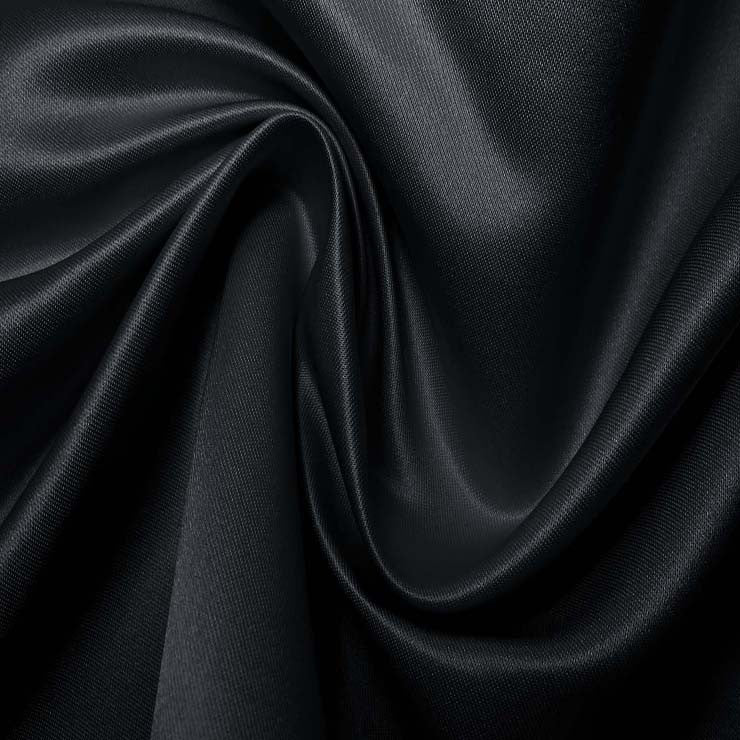 Silk Blend Duchess Satin Navy