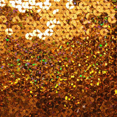 Hologram Stretch Sequins Mesh 06 Rust - NY Fashion Center Fabrics