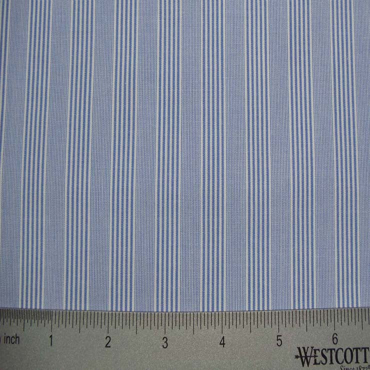 100% Cotton Fabric Stripes Collection #7 09 Y D8692R B - NY Fashion Center Fabrics
