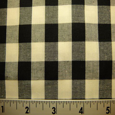 100% Cotton Fabric Checks #8 06 YD3695B C_740X740 - NY Fashion Center Fabrics