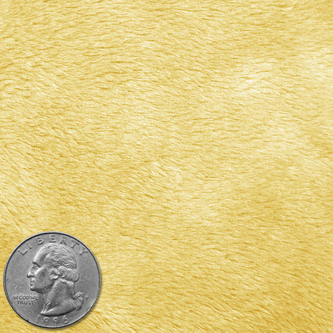 Polyester Faux Fur 06 Yellow