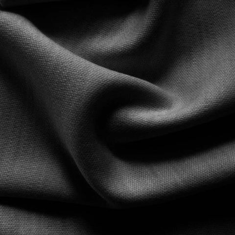 Wool Double Knit Jersey 07 Dark Grey