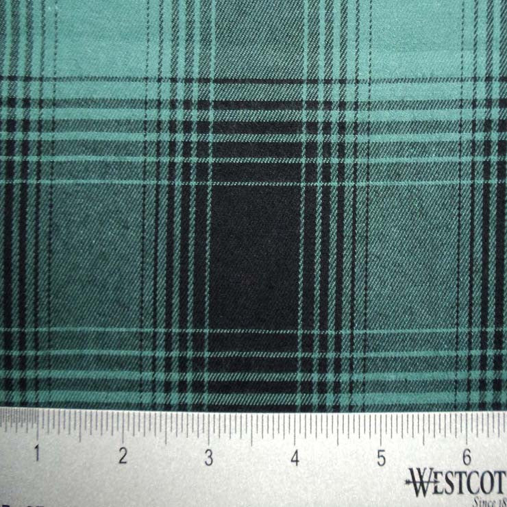 100% Cotton Fabric Checks Collection #5 07 FLN5001B G - NY Fashion Center Fabrics